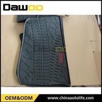 clear anbimal yellow rubber car floor mat