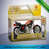 custom made toy paper box for packaging motorcycle