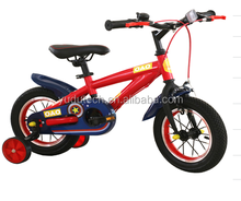 Model 025 12'16'20 'inch used kids bicycle new style hot 4 wheel bicycle for sale