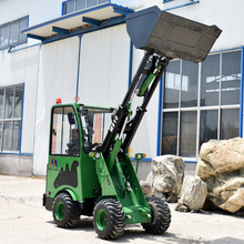 Earth moving machine electric front mucking skid steer loader with wholesale