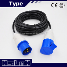 electrical plug extension male female power cable with plug