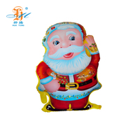 Factory wholesale santa claus ballons balloon for christmas celebrate decoration