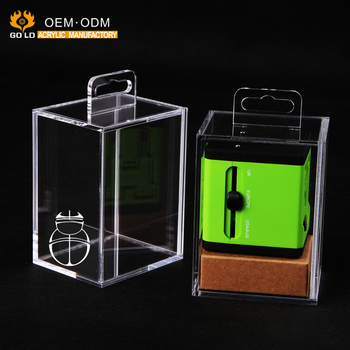 fanshion design hot sale clear acrylic gift display box