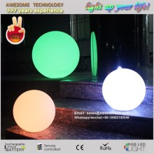 waterproof led glow moon light lamp orb ball