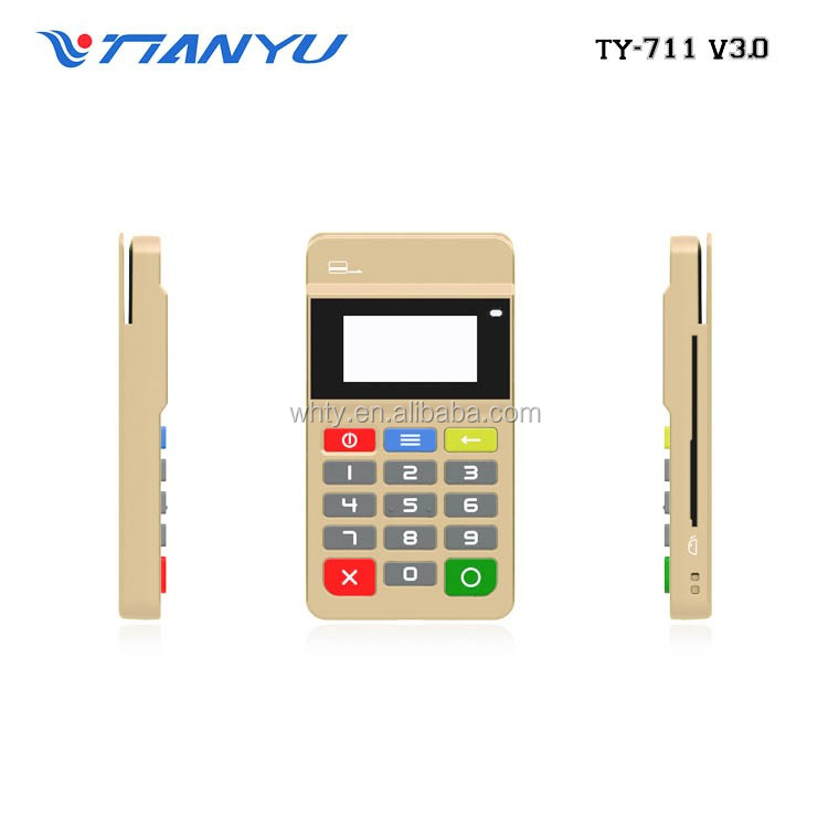 Hot sale EMV chip & PIN , mpos terminal pos with RFID/NFC mobile credit card reader