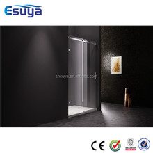 shower room partition sliding door tempered glass optional stainless steel handle shower room