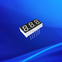 0.31 inch three triple digits red amber white full color led display module