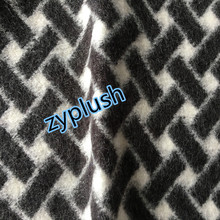 Knitting Wool Mohair Fabric for Women's Coat