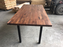 finger joint wood table top