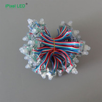 outdoor full color flat 12mm Rgb Led Pixe Light for led sign letters