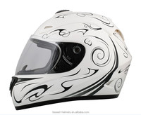 full face helmet with ece22.05 standard& safty helmet with visor