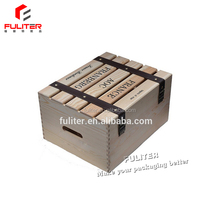 Alibaba bulk cheap wooden wine crates for sale