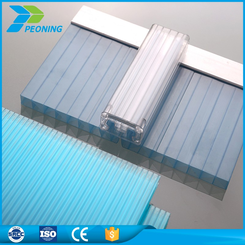 clip lock multi wall pc polycarbonate sheet