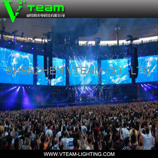 High quality Outdoor HD Video LED display full color panel for rental Shows