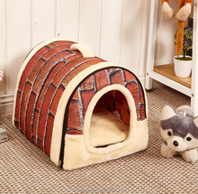Pet supplies dog kennel can unpick and wash And pet bed
