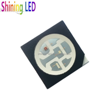 Light-emiting Diode Best Quality 0.2W 3*20mA White / Single Color / RGB SMD 5050 LED Chip Black