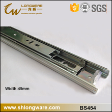 Triple extension drawer slides cabinet hardware for DTC