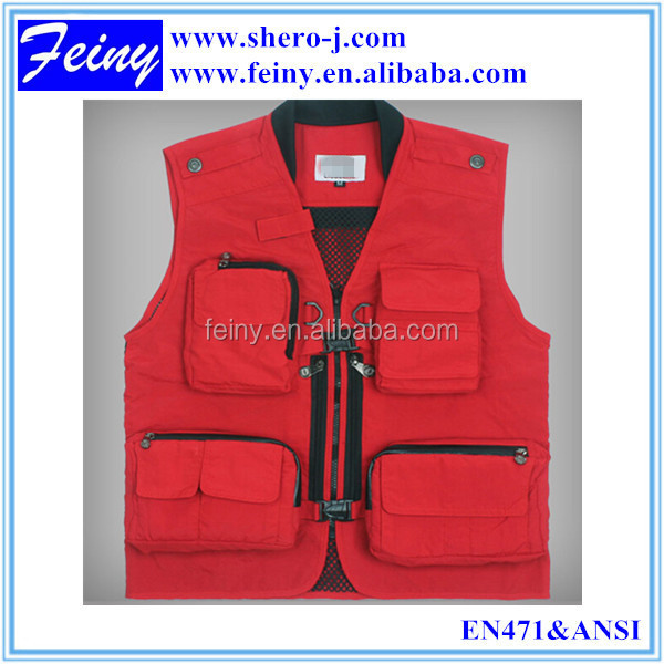 Quick-dry Fishing Multi Pocket Photographer Vest