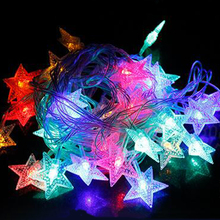 Hot sale LED star shape christmas light projector for Festival decoration