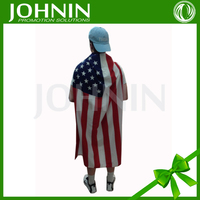 Sport Events Halloween Party Promotion gifts American flag capes