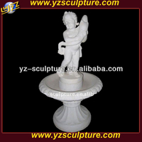 boy and fish marble sculpture water fountain for sale