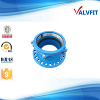 Ductile Iron Grip Flange Adaptor For PE pipe