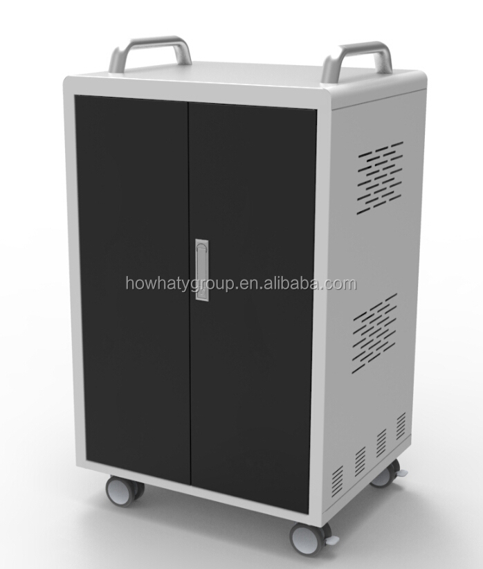 digital classroom laptop charging cart case