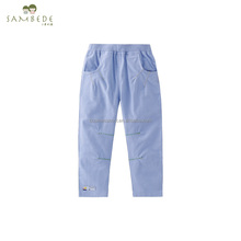 SAMBEDE Wholesale Baby Boby Clothes Pant Plain Custom Baby Child Trousers SM7Q30521