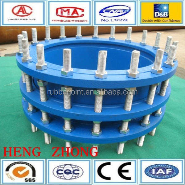 Ductile iron flange dismantling joint