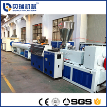 Flexible PE/PP/PVC Electric Cable Passing the Hose Making Machine / Corrugated Pipe Production Line