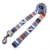 Good quality beautiful polyester colorful dog leash strap
