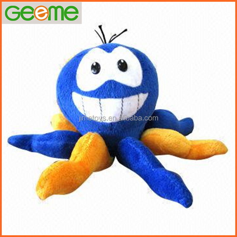 JM7038 Stuffed Plush Octopus Shaped Toy