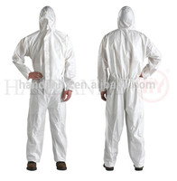 paint spray coverall disposable non woven laminated protective clothing