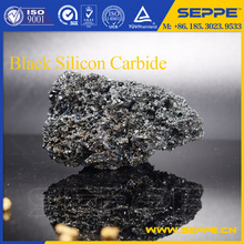 High purity electrical conductivity black silicon carbide