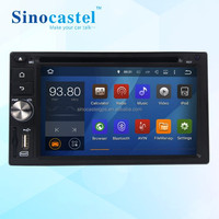 Android GPS Heat Unit Double Din 6.2 inch Multi-Touch Screen Car DVD For 178*102 Dashboard Universal Cars