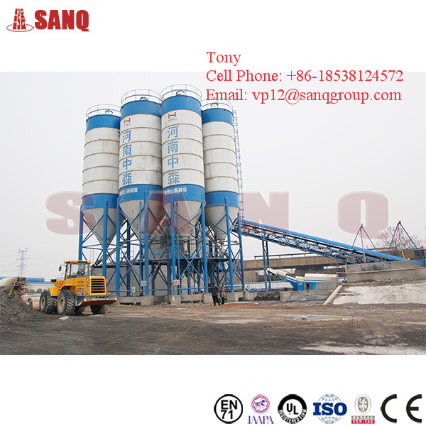 180 m3/h Automatic Stationary Precast Wet Ready Mixed Concrete Batching Plant