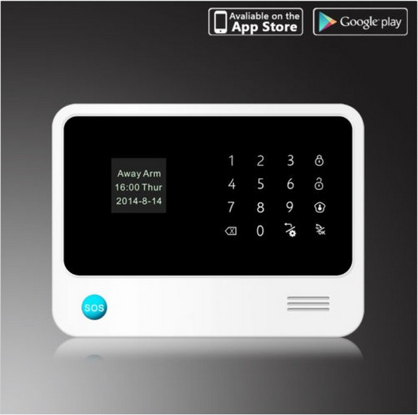 Monthly free pay! gsm home automation wifi alarm system remote control automation via gsm and wifi internet network