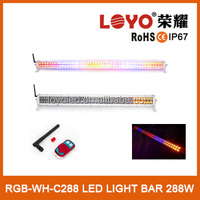 White ,yellow,red and blue Car Emergency Traffic Advisor Flash led light bar
