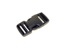 "Dual Adjustable Side Release Plastic Buckles 3/4"", 1"", 1 1/2"", 2"""