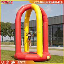 Let kids screaming inflatable Soft Bungee, inflatable bungee jumping, inflatable bungee trampoline