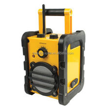 Hot sale outdoor waterproof jobsite radio wifi internet DAB USB work radio