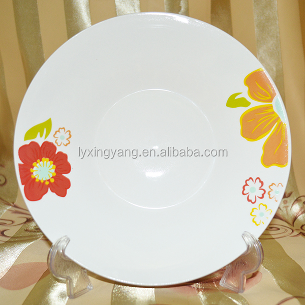 christmas day gift ceramic cake plate decorative plate Linyi Factory