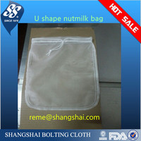 supply nylon nut milk bags/nut milk filter bags amazon FBA
