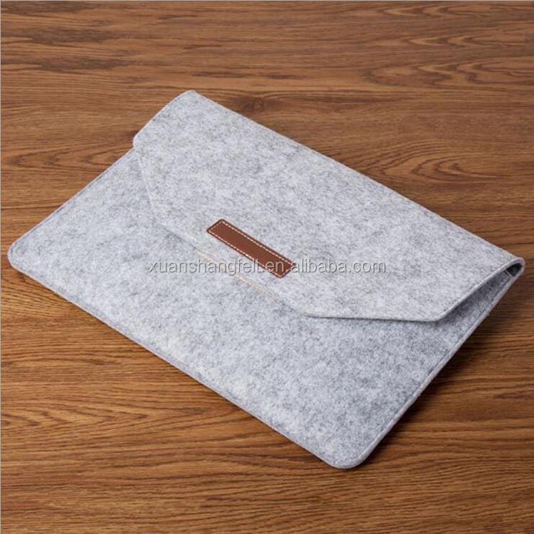 2017 New style eco felt laptop case for macbook pro 15 inch