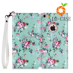 hot selling pu leather cell phone case with tpu back cover case for iphone 7