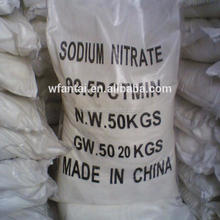 Shandong supplier the high quality Sodium nitrate 99.3% min with wholesale price