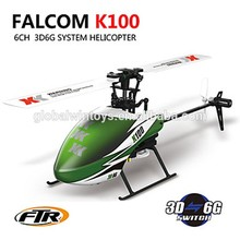 GLOBAL DRONE XK K100 radio control toy 2.4 GHz 6CH 3D 6G System rc toys RTF gasoline helicopter