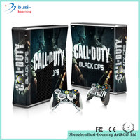 2015 Wholesale Good Price Decal Vinyl Skin Vinyl Sticker For Xbox 360 Slim Console And Controller Game Accessories For Microsoft