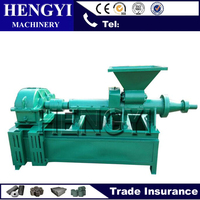 2017 Convenient Large capacity coal sticks &bar rods extruding machine