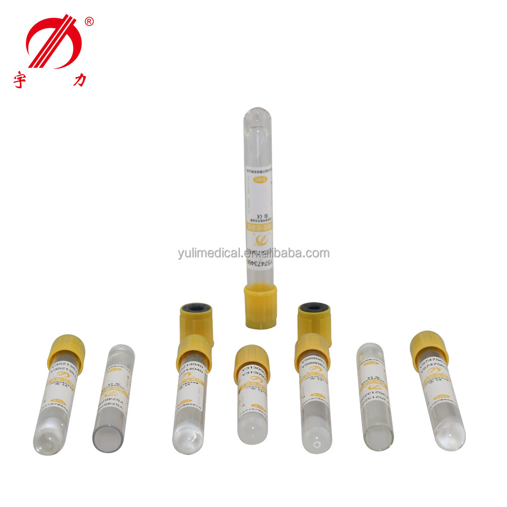 International Standard Factory Supply Gel Blood Collection Tubes